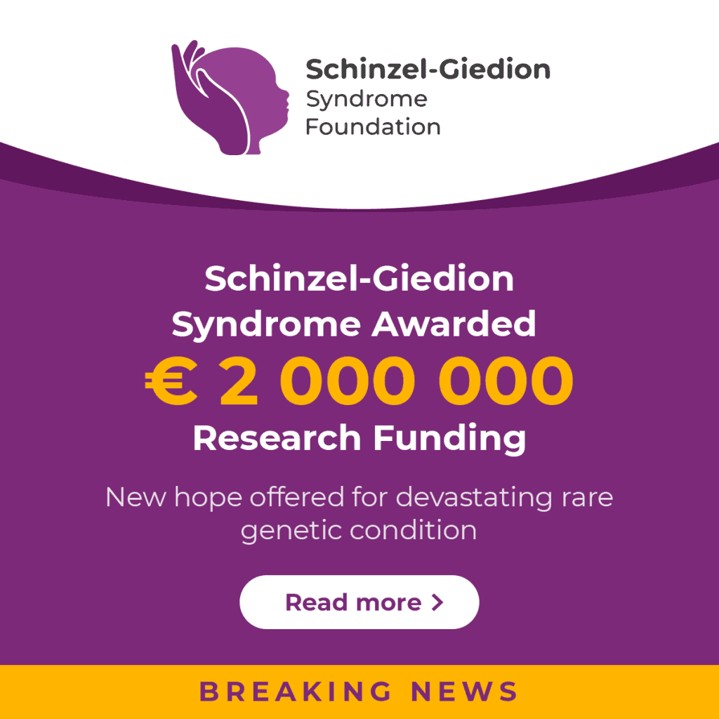 Schinzel-Giedion Syndrome Awarded € 2 000 000